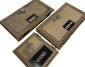 Vintage Post Office Box Door - 1950's 1960's Brass PO BOX Corbin Mailbox SALE