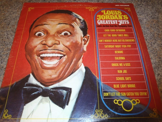 Lp Record Louis Jordan S Greatest Hits By Internetrecords
