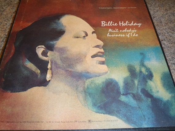 4 Lp Record Billie Holiday Box Set Ain T