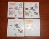 Sandylion Sticker Lot Fuzzy