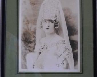 Original Photograph of Marion Davies - Signed by Actress