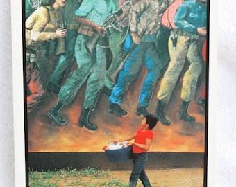 Billboard in Managua, Nicaragua  Vintage Postcard