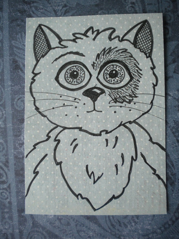 ACEO - Bruce the Cat