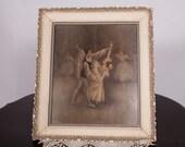 Vintage Ballet Print by Sophie Pas De Deux Ballet