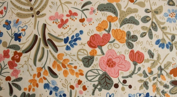 Half Yard Cotton Fabric for craft,Made In Japan,Floral Pattern,Christmas gift,diy (G13)