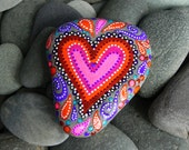 The Power of Love/Painted Rock by Sandi Pike Foundas