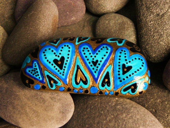 Golden Glow of Love / Painted Rock / Sandi Pike Foundas