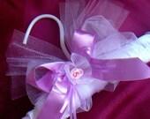 Satin Lingerie Hanger, Great Gift Idea, Pink & White