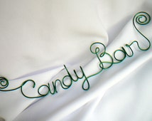 Candy Buffet Sign, Bridal Shower Decorations, Decor Reception