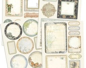 Nature Garden Scrapbook Journaling Chipboard Embellishment Pieces by Jodie Lee for Prima Marketing
