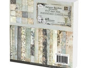 Signed Nature Garden 6x6 Paper Pad of Cardstock Papers for Scrapbooking by Jodie Lee for Prima Marketing