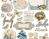 Fairy Belle Chipboard Embellishment Pieces by Prima Marketing