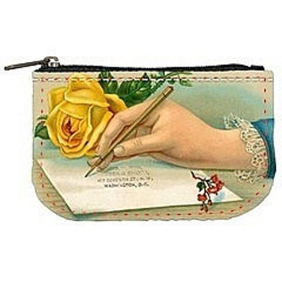 Love Notes Postcard Purse by Jodie Lee Designs