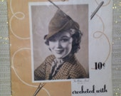 Vintage 1938 Hats, Bags, and Belts Crochet Book