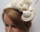Reserved for Mengji Liu Vintage Cream Felt Hat