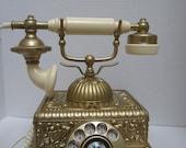 Replica of a 1920's European Desktop Phone c.1974