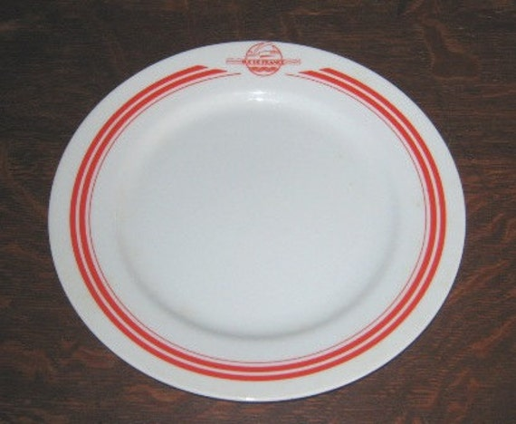 2 Vintage Ile de France Plates - Enjoy your Sandwiches in Style