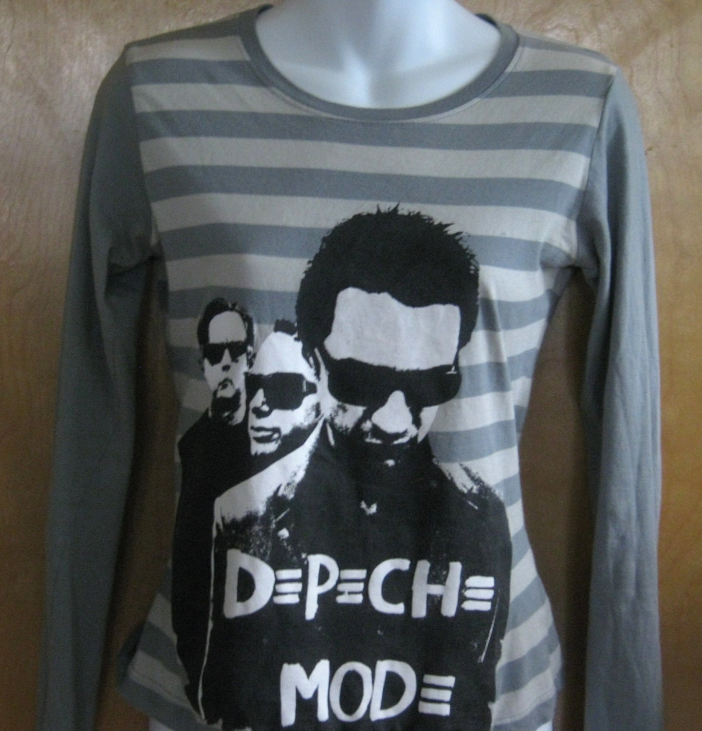 coolest depeche mode tour tee t shirt by littlevintagestories. Black Bedroom Furniture Sets. Home Design Ideas