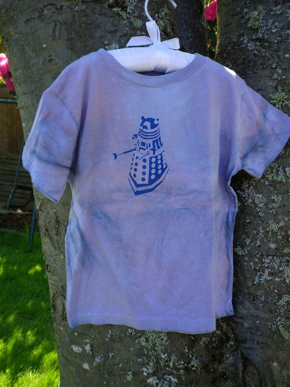Purple Kids Dalek Shirt - Exterminate