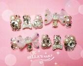 Japanese 3D nails