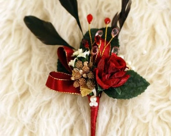 Boutonniere - Moulin Rouge