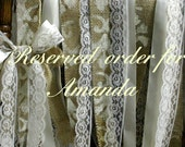 Reserved order for Amanda