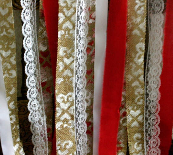 Garland for weddings and photo booths, Chandelier streamer for weddings
