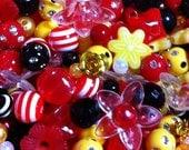 275 ct Minnie Mouse Bead Assortment 24 Type Disney Jewelry Bead Mix (BX-RMINNIE)