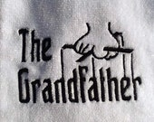 The Grandfather(Godfather inspired) embroidered golf towel