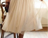 FREE SHIPPING Ballet inspired Chiffon Skirt