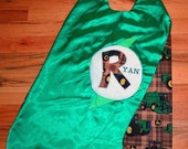 Personalized SuperHero Cape - Fully lined - Full name