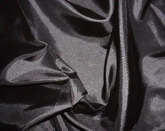 chinese silk...........black half yard
