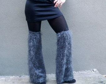 Leggings fuzzy grey