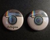 """INSTAGRAM APP - 1"""" inch pinback button"""