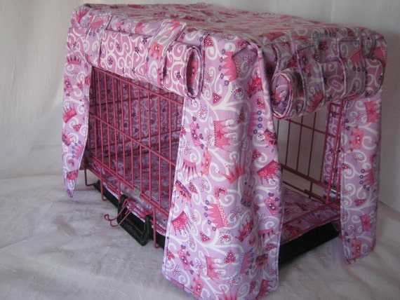 Crate Bedding Cover Fully Lined in Michale Miller Princess Print