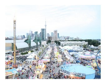 CNE View From Ferris Wheel, Photo Print