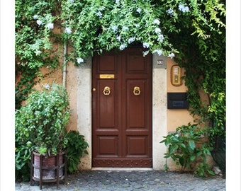 Doorway, Rome Italy Photo Print
