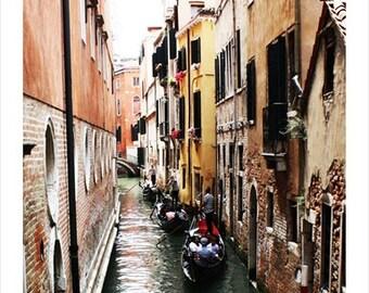 Gondolas 4, Venice Italy Photo Print