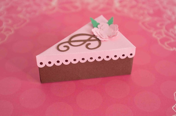 wedding cake slice bags paper cake slice favor boxes wedding by foxycouturepapercuts 24904