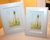 "Wall Art Framed Print, Princess Rapunzel's Tower, ""Let down your hair"" -  Larger Frame"