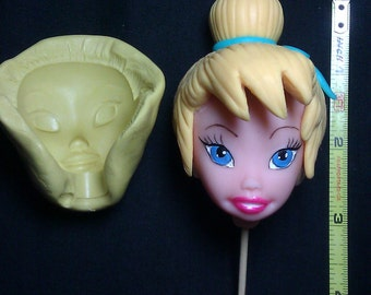 silicone mold,face tinkerbell.
