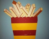 Private listing for Jodi.  Die cut waffle and hand cut french fries.