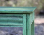 Vintage Accent / Side Table in Antibes Green