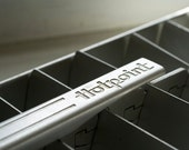 Mid Century Aluminum Ice Trays (2) made by Hotpoint