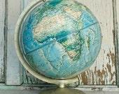 Vintage Rand McNally Globe Circa 1980
