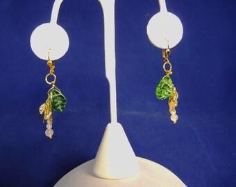 Mini Mistletoe Earrings