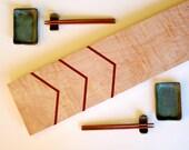 Chevron Cutting Board Sushi Tray