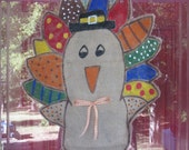 Burlap Turkey Door hanger