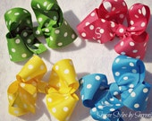 Monogrammed Twisted Bows