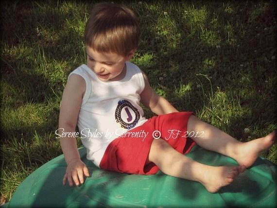 Monogrammed Onesies/Shirts - Sizes Newborn - 10 Children - Choose the Style